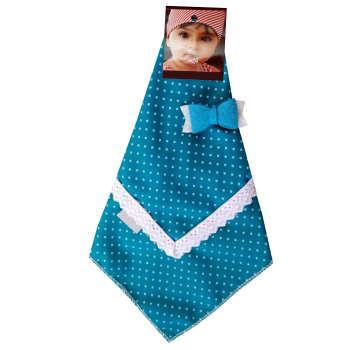 دستمال سر دخترانه مدل نیلا کد 006 تک سایز