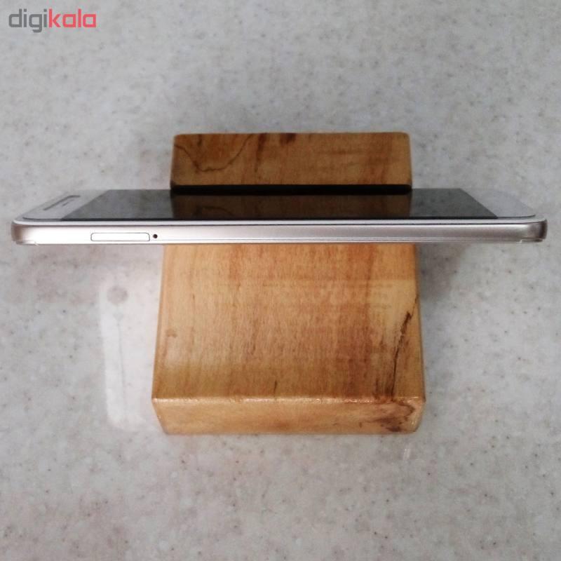 پایه نگهدارنده گوشی موبایل استند تبلت چوبی چوبیس کد 1-351 main 1 4
