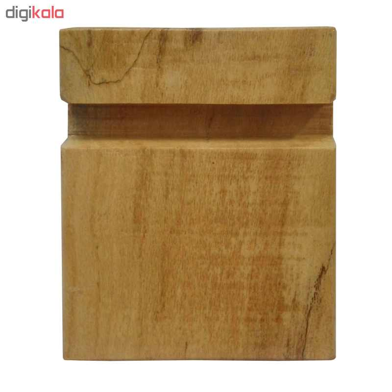 پایه نگهدارنده گوشی موبایل استند تبلت چوبی چوبیس کد 1-351