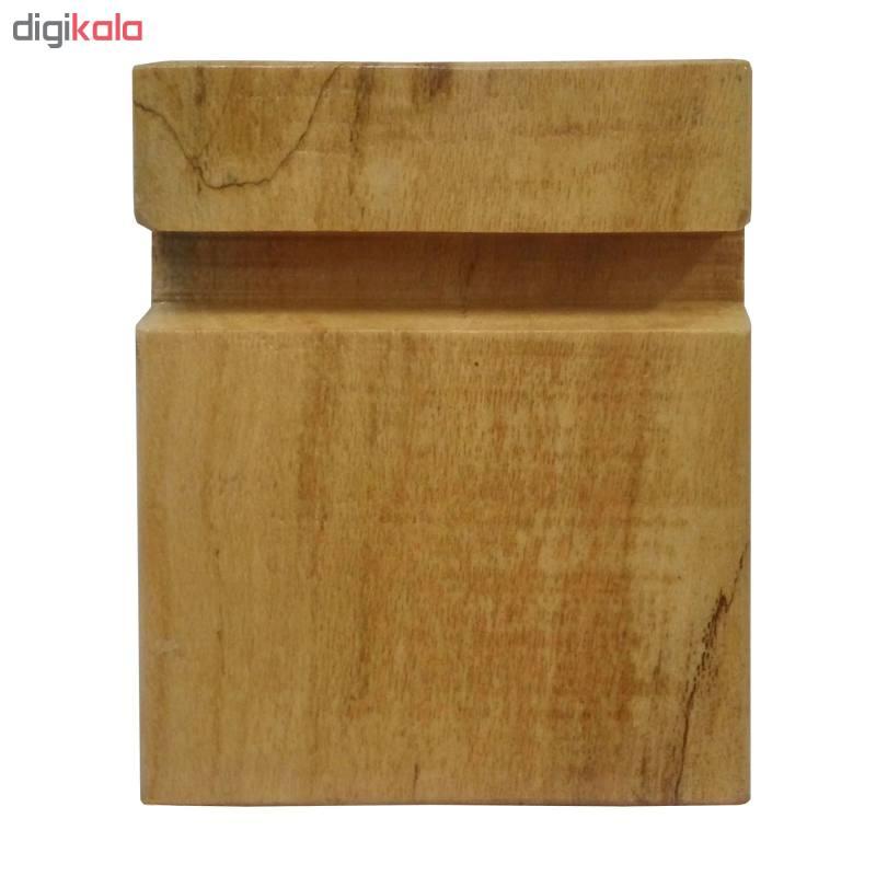 پایه نگهدارنده گوشی موبایل استند تبلت چوبی چوبیس کد 1-351 main 1 5