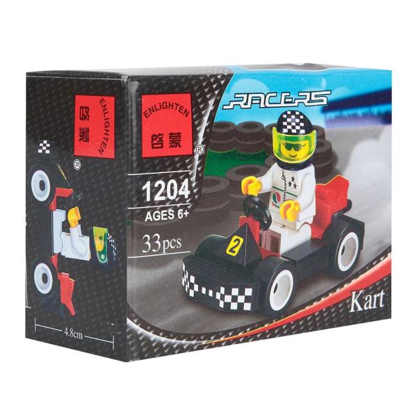 ساختنی انلایتن مدل ماشین مسابقه 1204