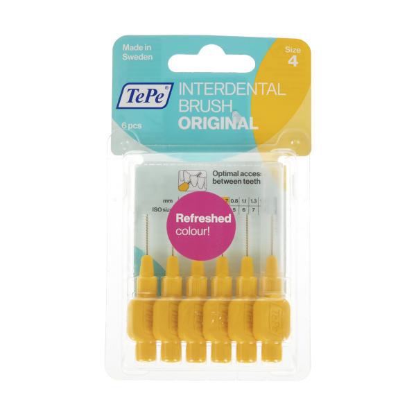 مسواک بین دندانی تپه مدل Orginal سایز 4 بسته 6 عددی thumb