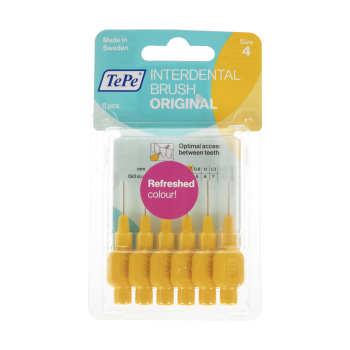 مسواک بین دندانی تپه مدل Orginal سایز 4 بسته 6 عددی