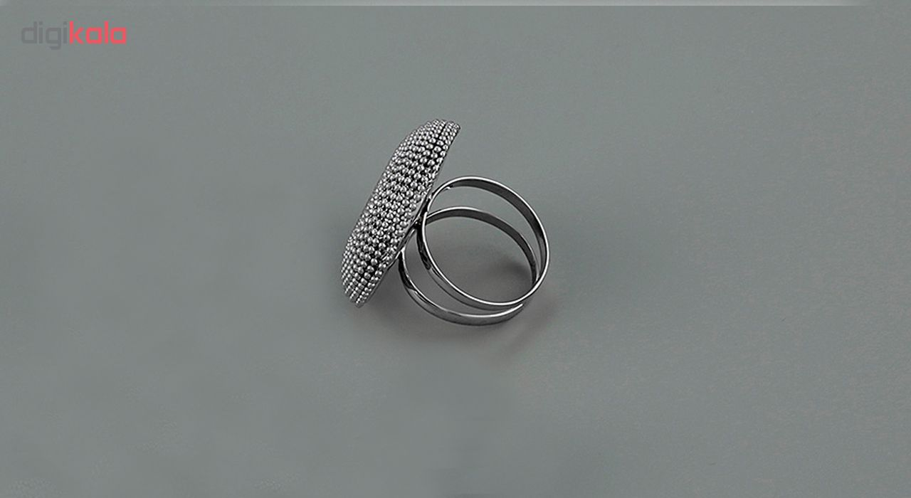 انگشتر طلا 18 عیار جواهری سون مدل 2150