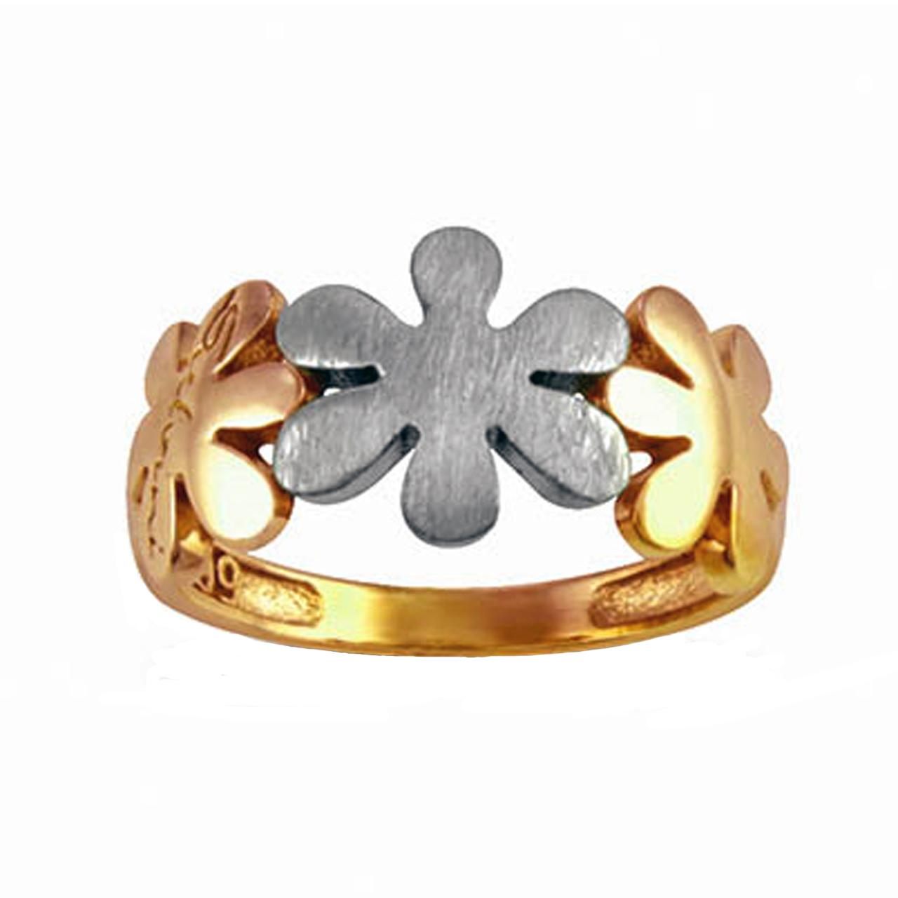 انگشتر طلا 18 عیار جواهری سون مدل 2192