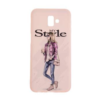 کاور مدل TNG طرح Pink My Style مناسب برای گوشی موبایل سامسونگ Galaxy J6