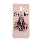 کاور مدل TNG طرح Violet My Style مناسب برای گوشی موبایل سامسونگ Galaxy J6