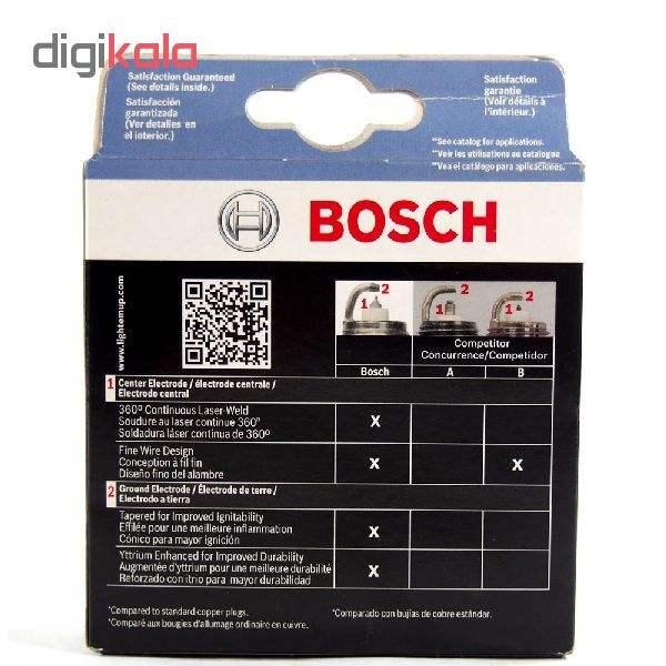 شمع خودرو بوش آلمان مدل Platinum 2X سوزنی بسته 4 عددی thumb 4