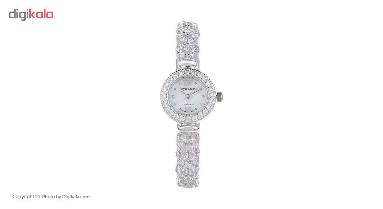 ساعت  نقره زنانه رویال کرون مدل RC5266-5