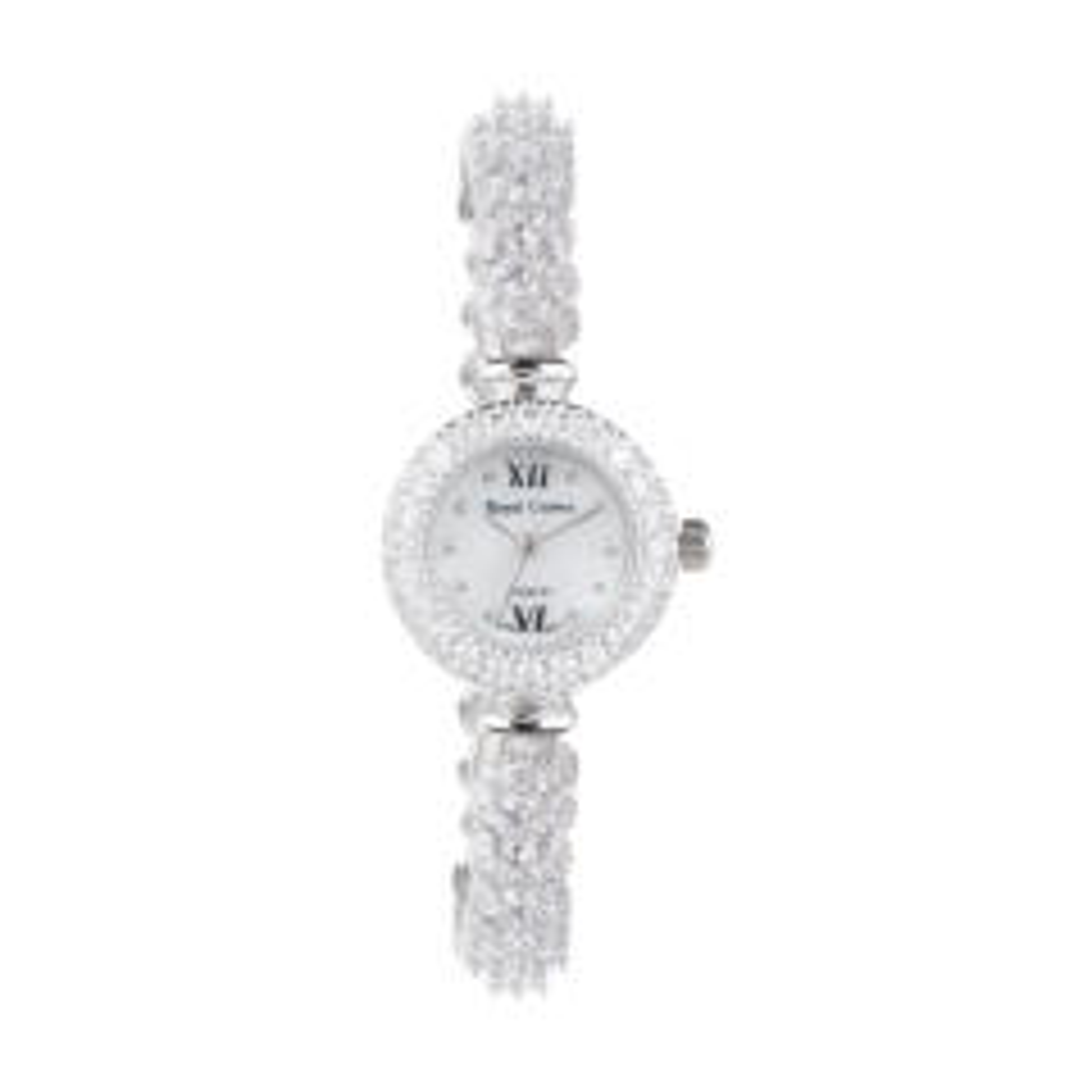 ساعت مچی عقربه ای نقره زنانه رویال کرون مدل RC5266-4