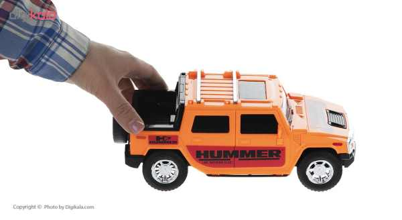 ماشین جیپ هامر اسباب بازی دورج توی مدل Hummer thumb 11