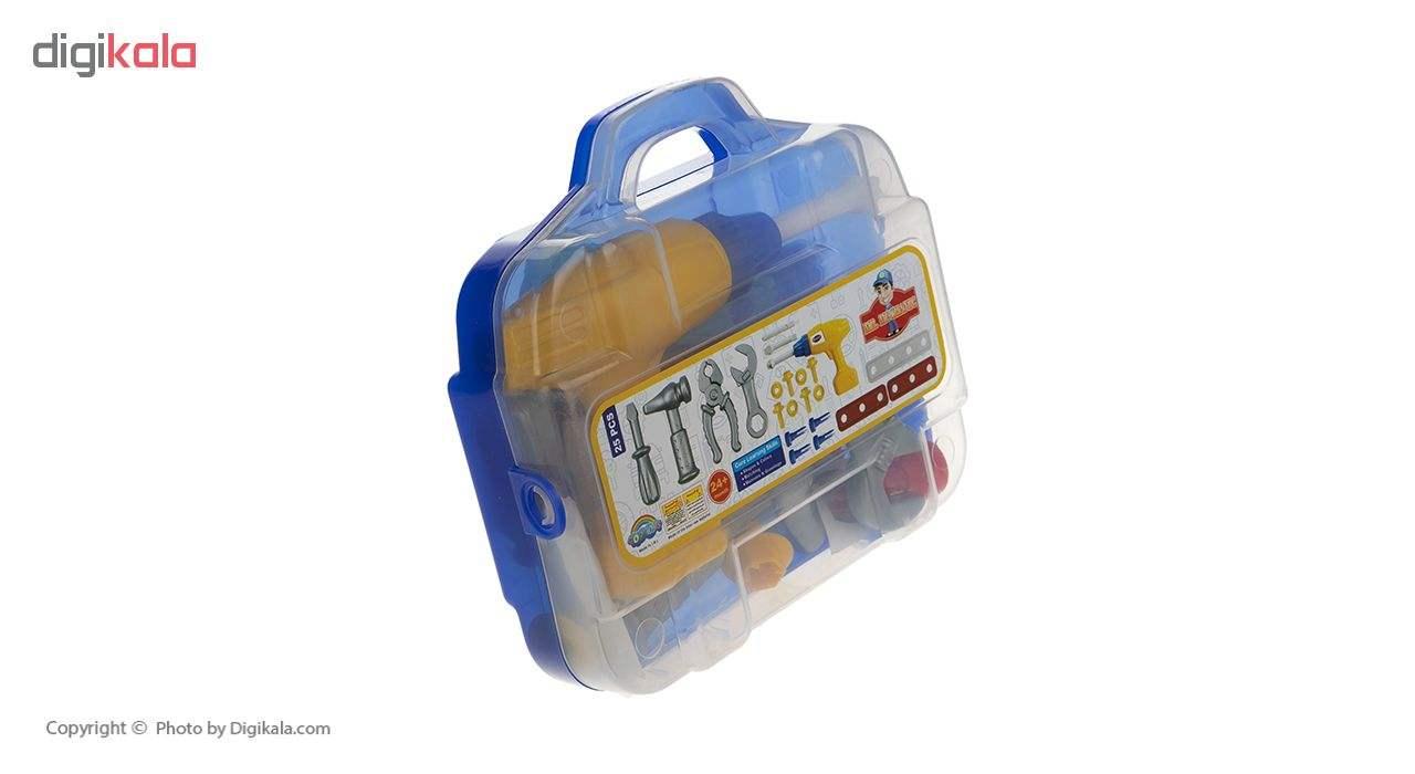 ست اسباب بازی ابزار مکانیکی کودک مدل Mr.Mechanic main 1 2