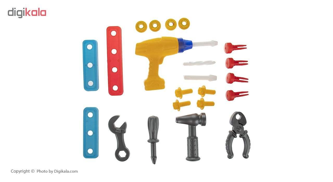 ست اسباب بازی ابزار مکانیکی کودک مدل Mr.Mechanic main 1 3