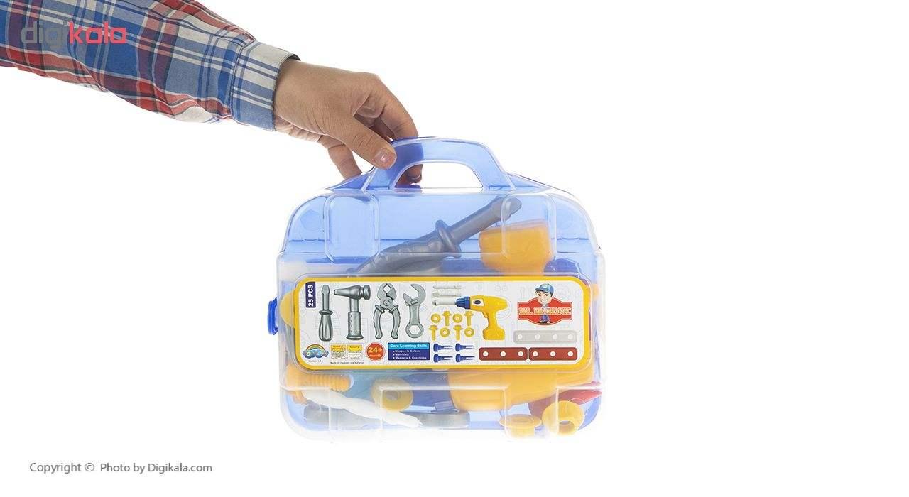 ست اسباب بازی ابزار مکانیکی کودک مدل Mr.Mechanic main 1 4