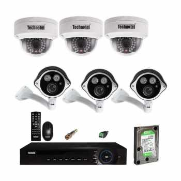 سیستم امنیتی تکنوتل کد 4500