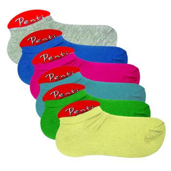 جوراب زنانه پنتی کد521 مجموعه 6 عددی