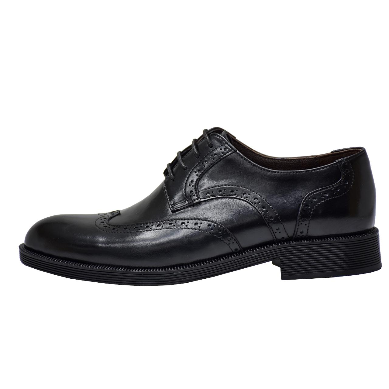 کفش مردانه رسا چرم کد 135