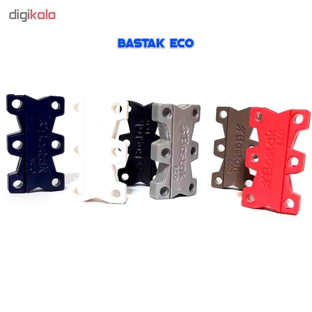 بند کفش مغناطیسی بستاک مدل اِکو E110 رنگ نقره ای main 1 10