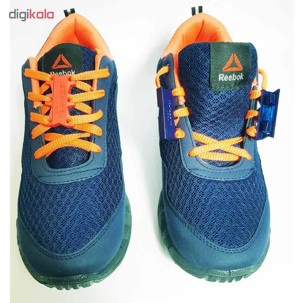 بند کفش مغناطیسی بستاک مدل اِکو E110 رنگ نقره ای main 1 6