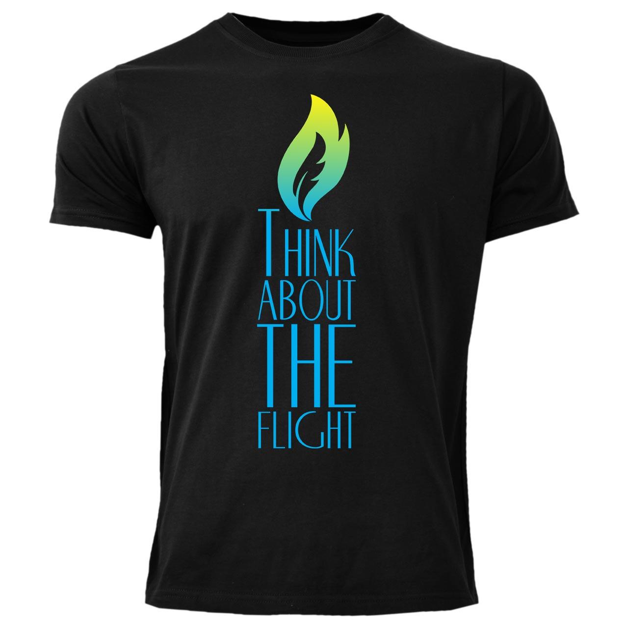 تیشرت مردانه طرح شمع کد LP3 رنگ مشکی