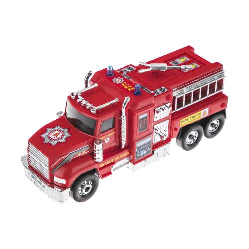 ماشین آتش نشانی اسباب بازی دورج توی طرح Fire Truck