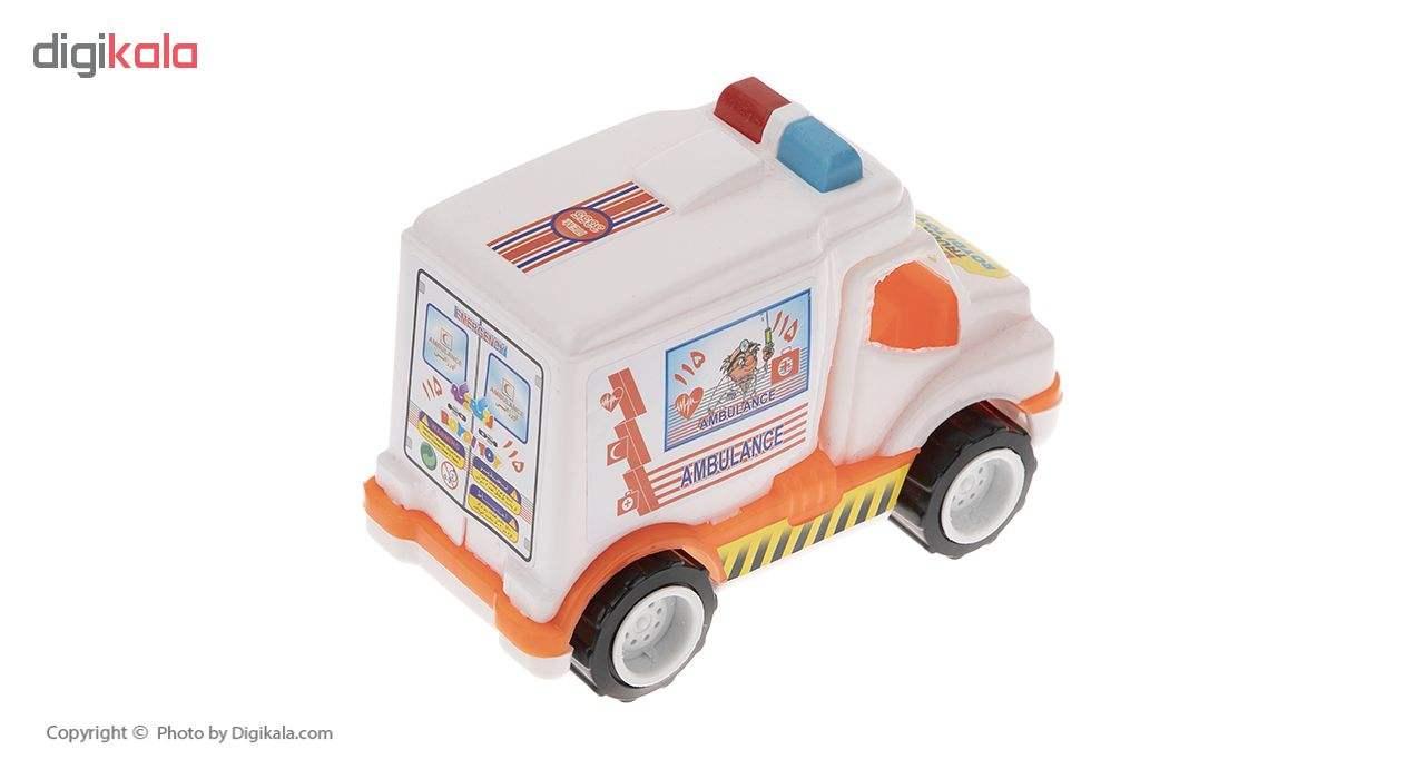 ماشین آمبولانس اسباب بازی رویدی توی مدل 02 main 1 2