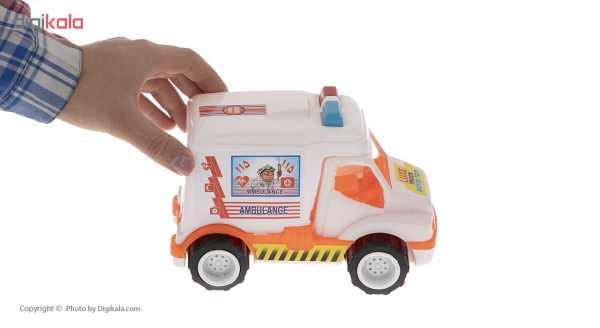 ماشین آمبولانس اسباب بازی رویدی توی مدل 02 main 1 3