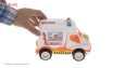 ماشین آمبولانس اسباب بازی رویدی توی مدل 02 thumb 3