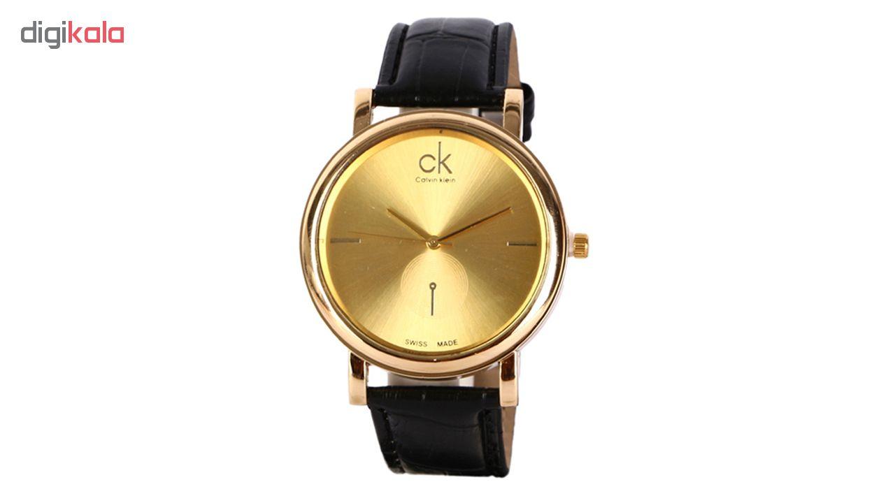 خرید ساعت مچی عقربه ای مردانه مدل CM-Go-Bk | ساعت مچی