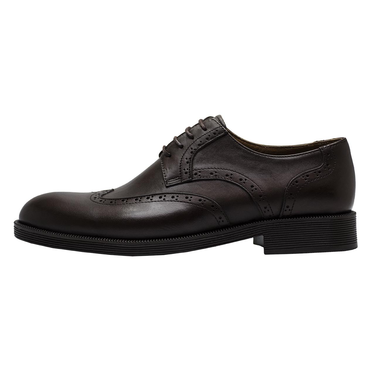 کفش مردانه رسا چرم کد 131