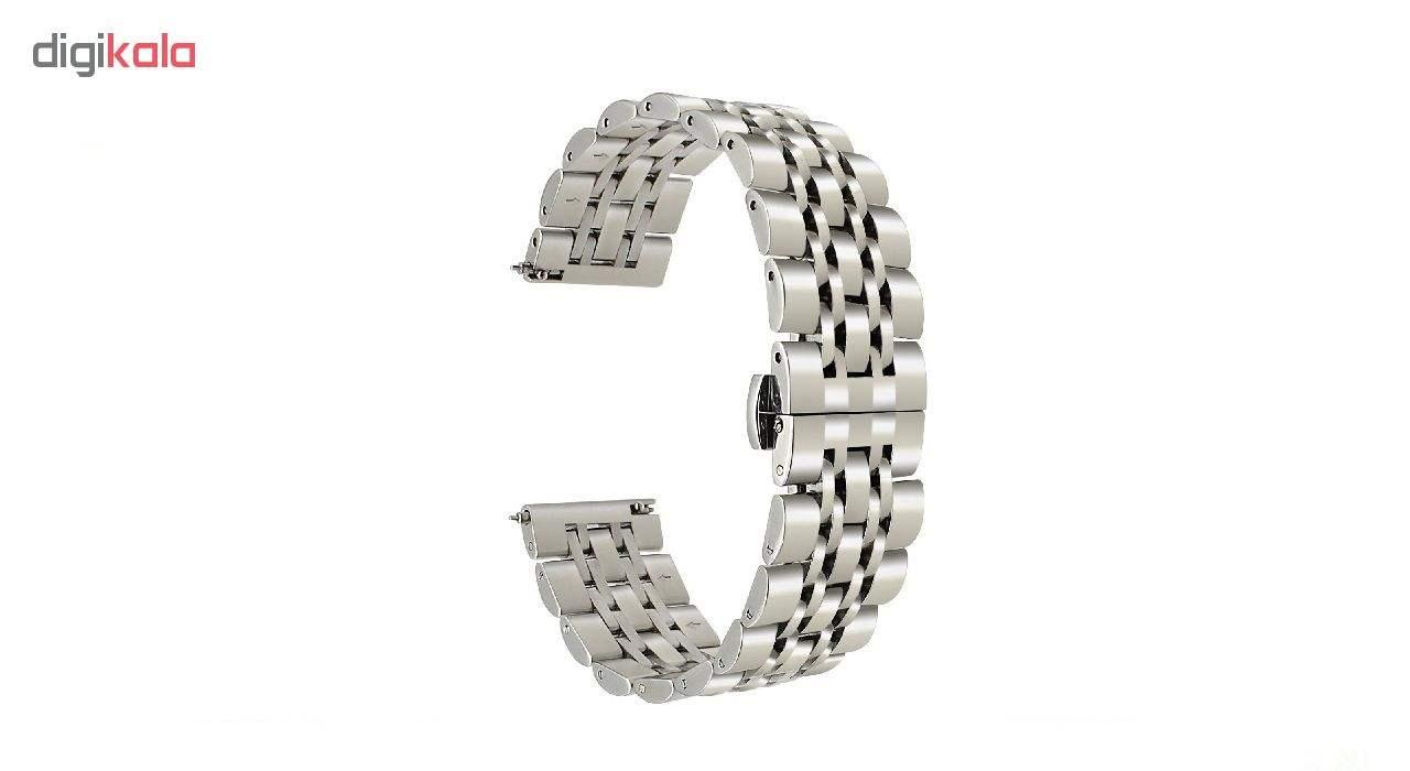 بند مدل Longiness به همراه کیف نگهداری ساعت مناسب برای ساعت های هوشمند  Gear S3 / Galaxy Watch 46mm main 1 2