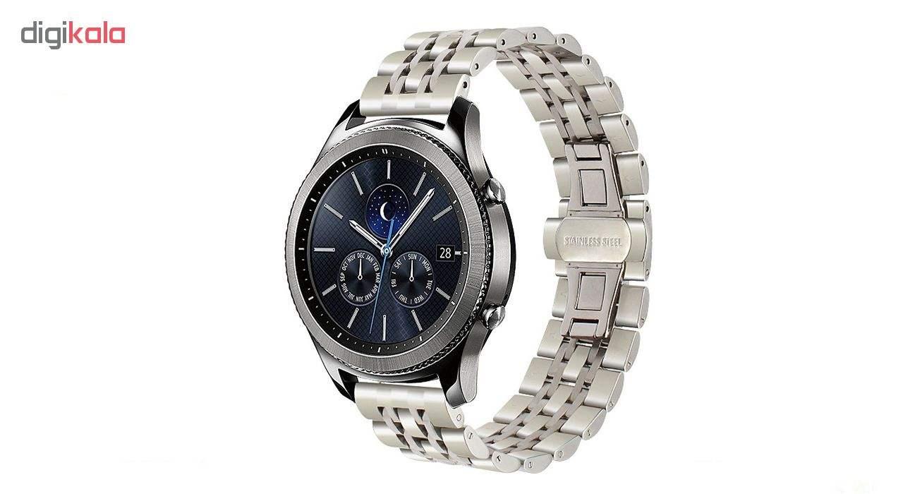 بند مدل Longiness به همراه کیف نگهداری ساعت مناسب برای ساعت های هوشمند  Gear S3 / Galaxy Watch 46mm thumb 4