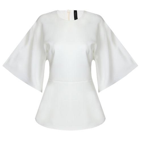بلوز زنانه تین تک مدل روناک کد 339384901 رنگ سفید