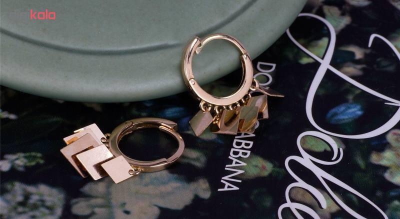 گوشواره طلا 18 عیار گالری مرجان مدل 0890
