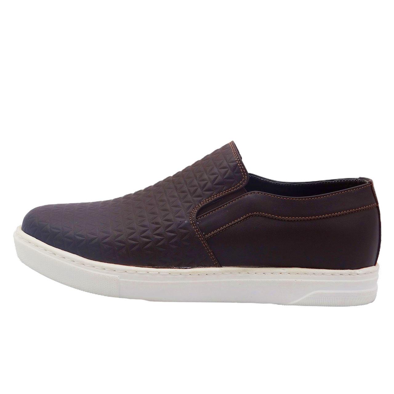 قیمت کفش چرمی مردانه مدل کروکو کد A2