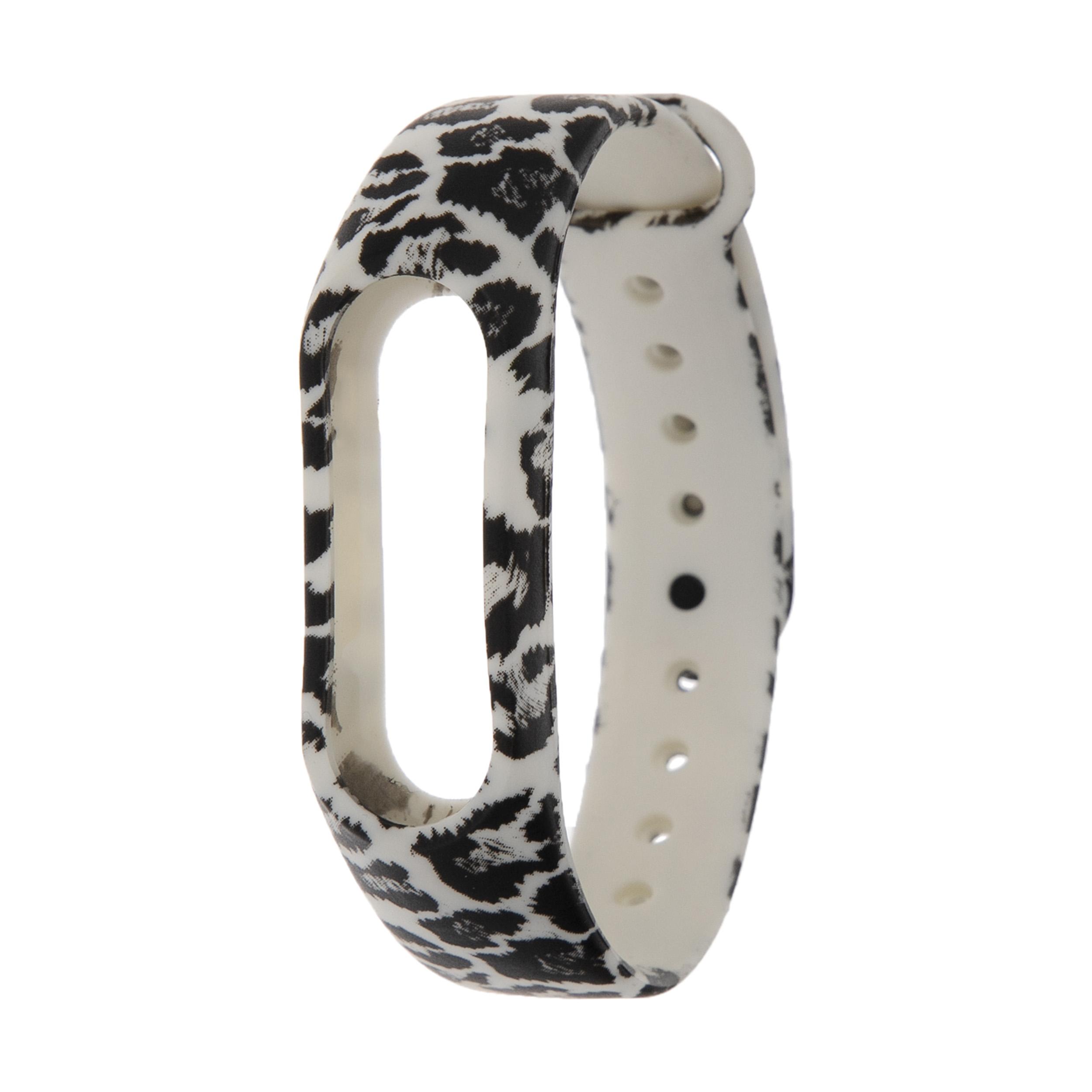 بند مچ بند هوشمند طرح Leopard کد 71 مناسب برای مچ بند هوشمند MI Band