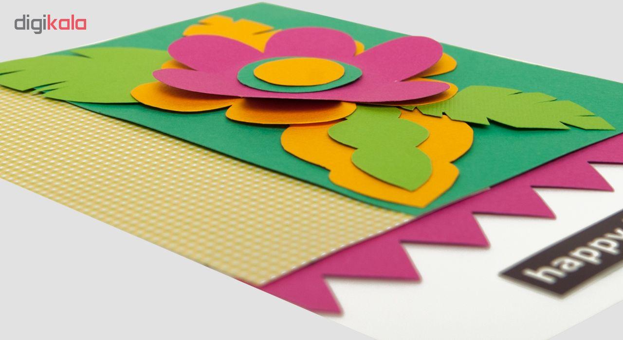 کارت پستال آلماکارت طرح گل استوایی مدل GrPi1007