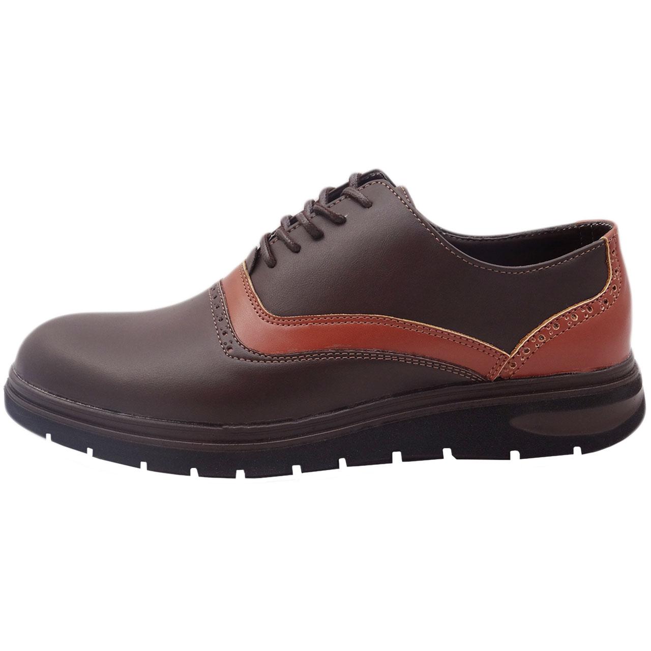 کفش چرمی مردانه مدل برت کد A6