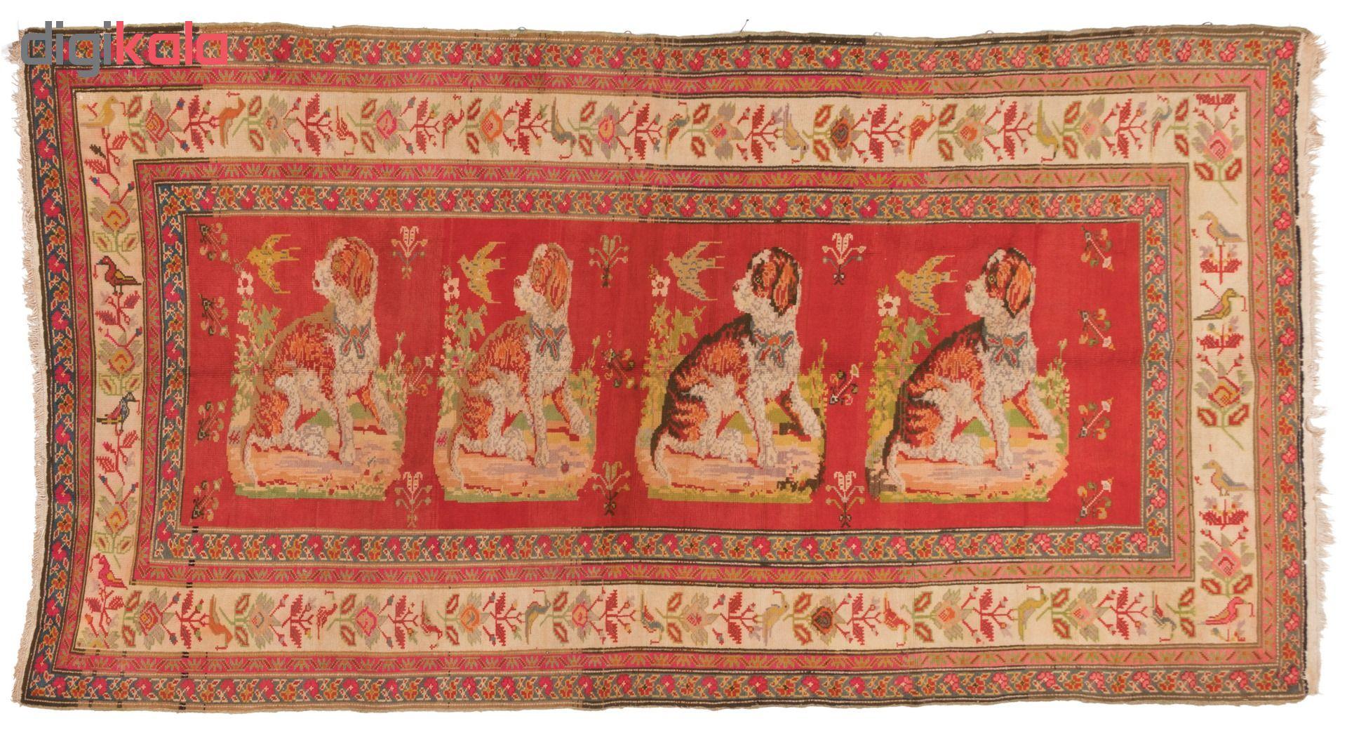 فرش دستباف قدیمی سه متری سی پرشیا کد 170004