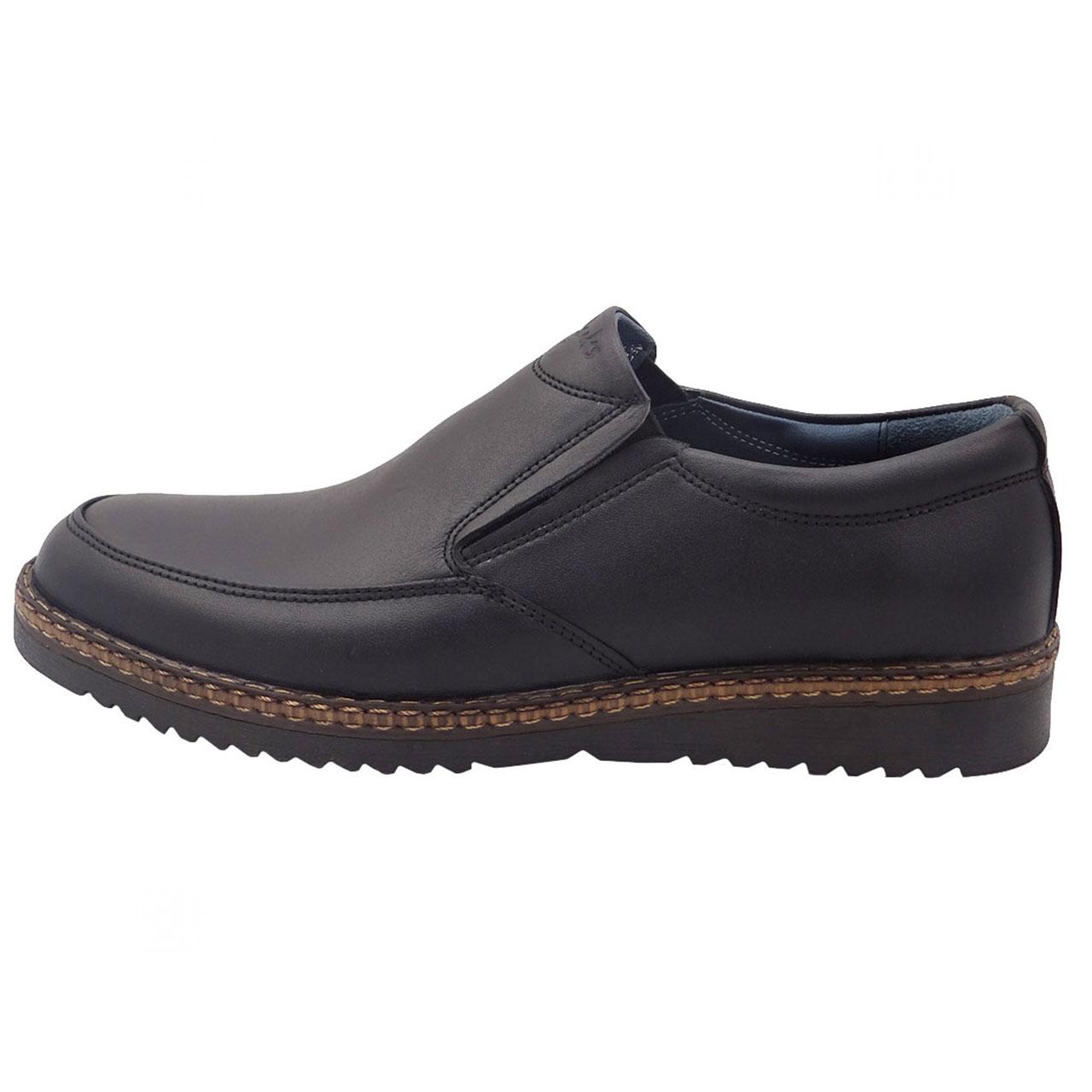 کفش چرمی مردانه مدل A17