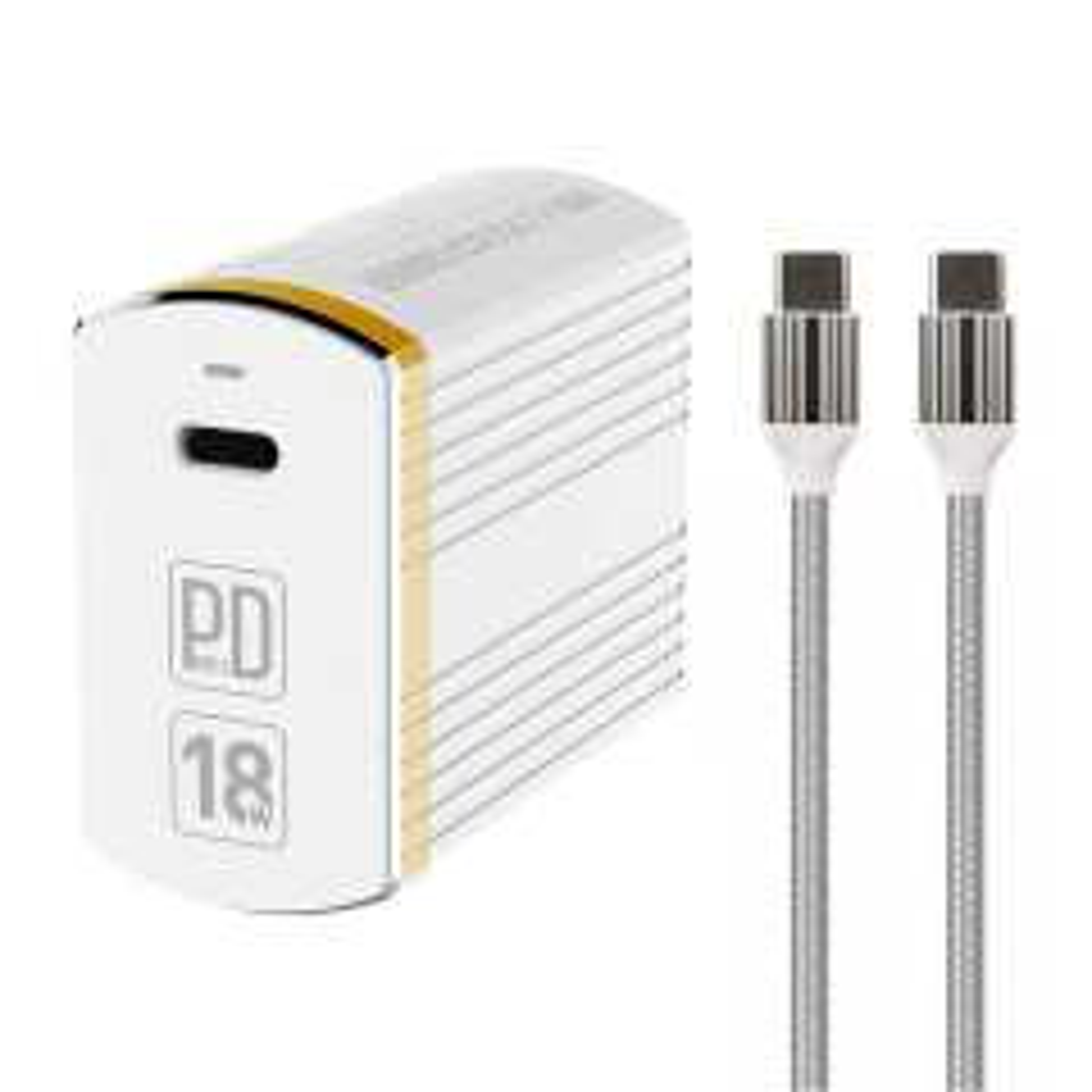 شارژ دیواری الدینیو مدل A1302Q-C به همراه کابل تبدیل USB-C