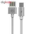 کابل تبدیل USB به USB-C دبلیو کی مدل WDC-055 طول 1 متر