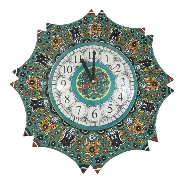 ساعت دیواری میناکاری کد 001