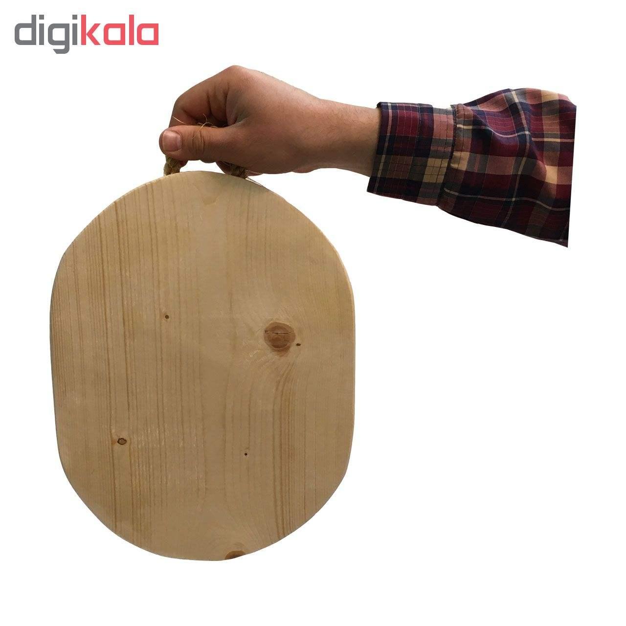 تخته برش و تخته گوشت چوبی مدل دلسا thumb 2