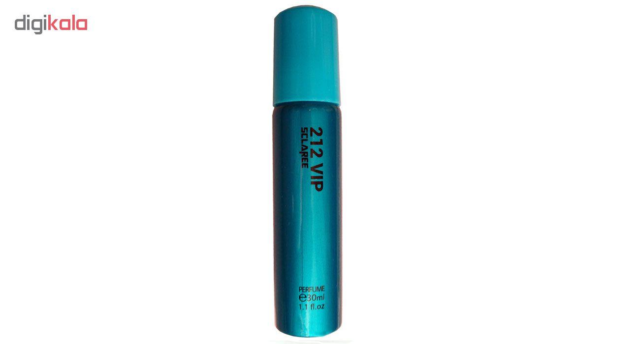 خرید اینترنتی ادوپرفیوم زنانه اسکلاره مدل 212VIP حجم 30 میلی لیتر اورجینال