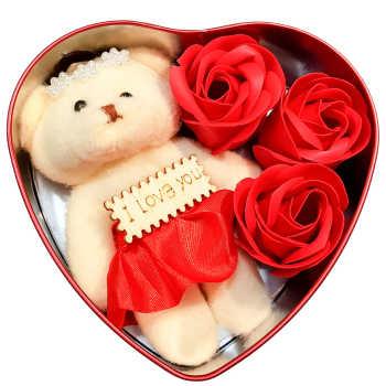 ست هدیه عروسک مدل عشق