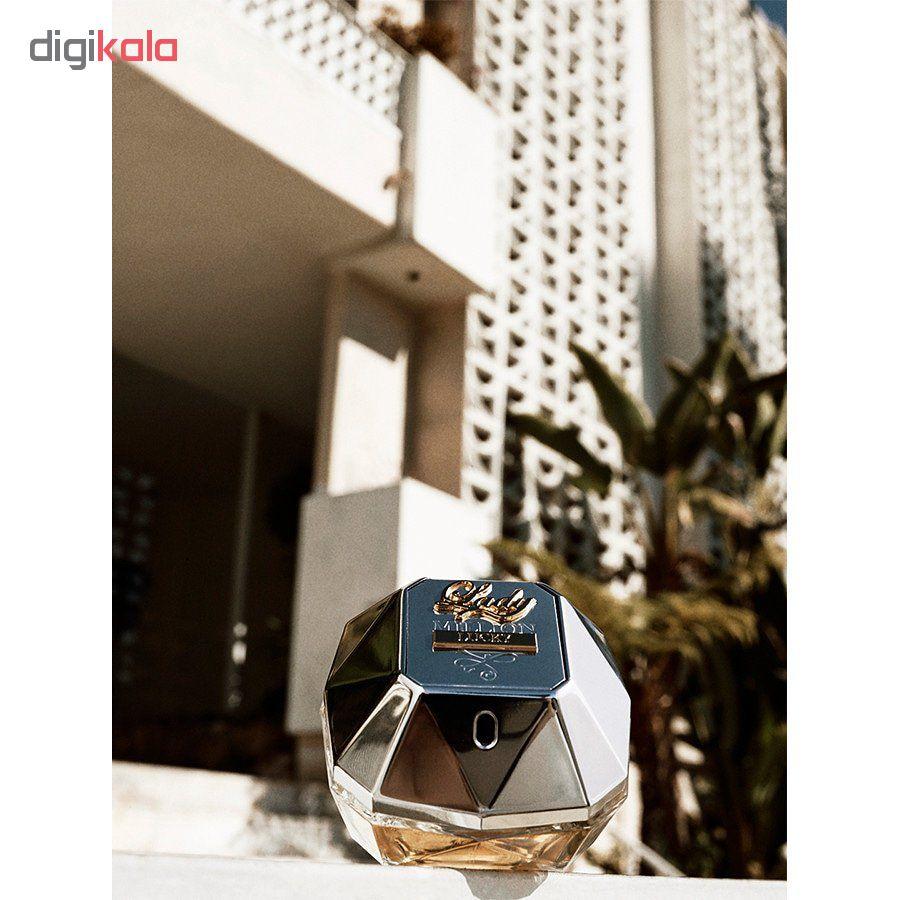 خرید اینترنتی ادو پرفیوم زنانه پاکو رابان مدل Lady Million Lucky حجم 80 میلی لیتر اورجینال