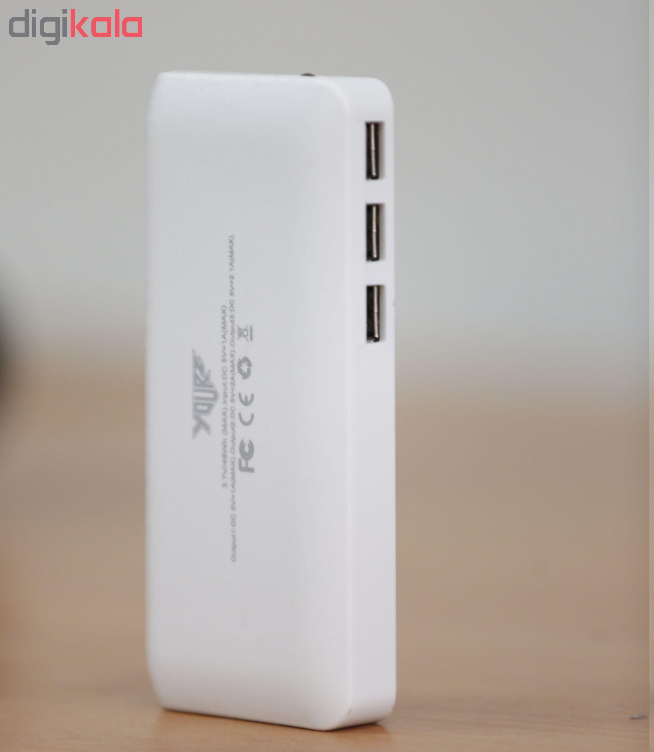 شارژر همراه کد 20000 ظرفیت 10000 میلی آمپر ساعت