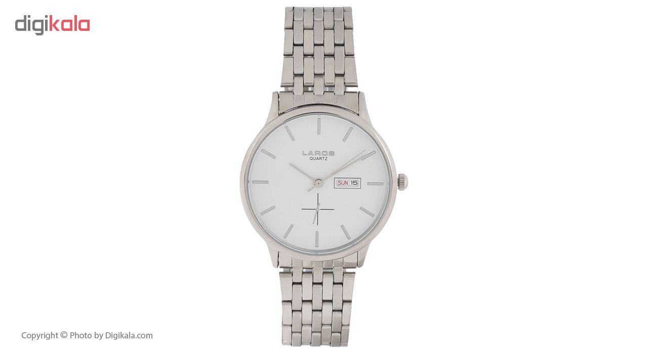 خرید ساعت مچی عقربه ای مردانه لاروس مدل 79837 کد 7