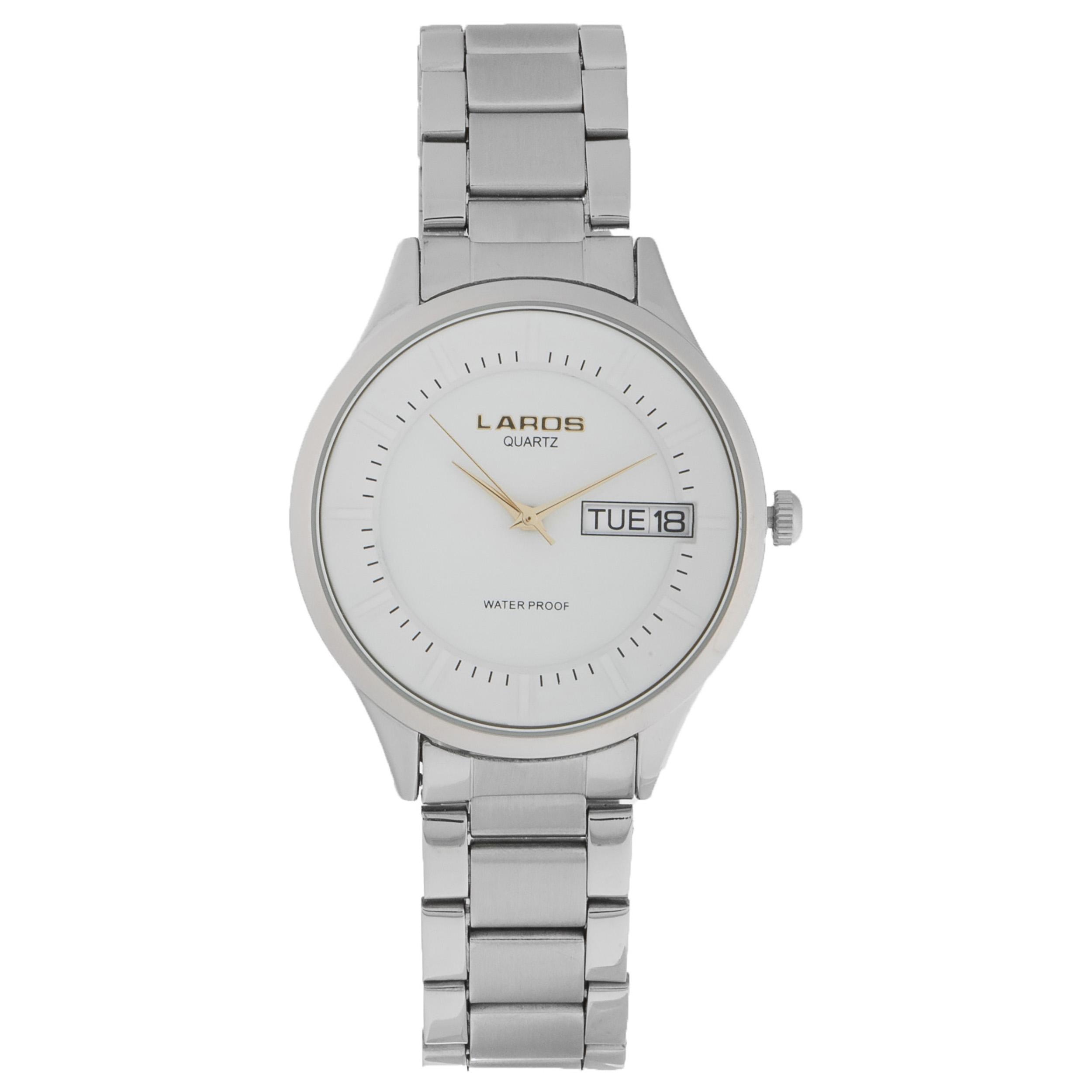 ساعت مچی عقربه ای مردانه لاروس مدل 79977 کد 8 33
